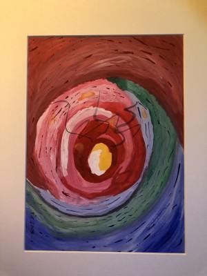 obraz w wyrazistych kolorach