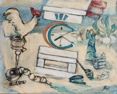 namalowany obraz