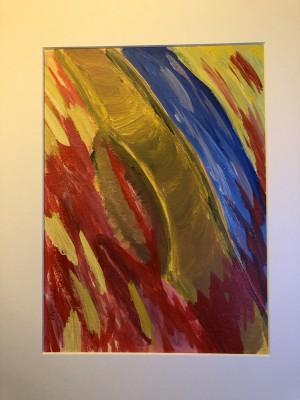 obraz namalowany farbami