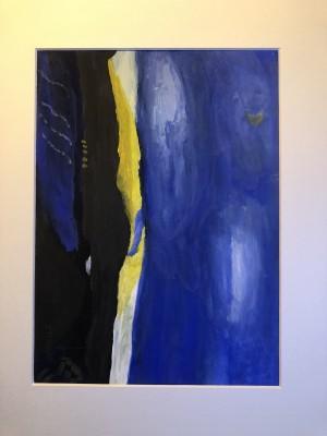 obraz w kolorze niebieskim
